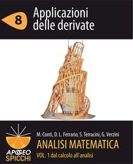Analisi matematica I.8 Applicazioni delle derivate (PDF - Spicchi) - copertina