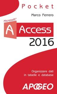 Access 2016 - copertina