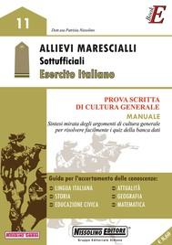 Allievi Marescialli - Sottoufficiali – Esercito Italiano - copertina