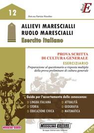 Allievi Marescialli - Ruolo Marescialli – Esercito Italiano - copertina