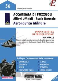 Accademia di Pozzuoli - Allievi Ufficiali - Ruolo Normale Aeronautica Militare - copertina