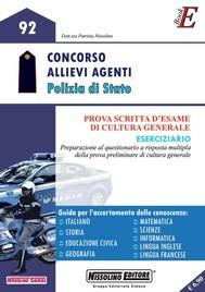 Concorso Allievi Agenti Polizia di Stato - copertina
