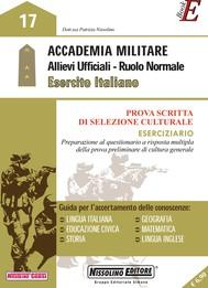 Accademia Militare - Allievi Ufficiali - Ruolo Normale - Esercito Italiano - copertina