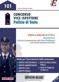 Concorso Vice Ispettore Polizia di Stato - copertina