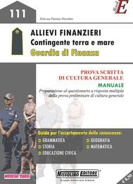 Allievi Finanzieri - Contingente terra e mare - Guardia di Finanza - copertina