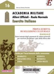 Accademia Militare Allievi Ufficiali - Ruolo Normale Esercito Italiano - copertina
