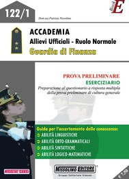 Accademia Allievi Ufficiali - Ruolo Normale Guardia di Finanza - copertina
