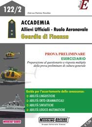 Accademia Allievi Ufficiali - Ruolo Aeronavale Guardia di Finanza - copertina