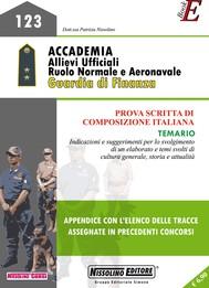 Accademia Allievi Ufficiali - Ruolo Normale e Aeronavale Guardia di Finanza - copertina