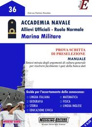 Accademia Navale - Allievi Ufficiali - Ruolo Normale - Marina Militare - copertina