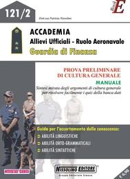 Accedemia Allievi Ufficiali - Ruolo Aeronavale Guardia di Finanza - copertina