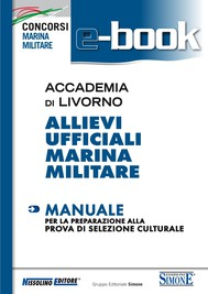 Accademia di Livorno - Allievi Ufficiali Marina Militare - Manuale - copertina