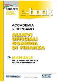 Accademia di Bergamo Allievi Ufficiali Guardia di Finanza  - Manuale - copertina