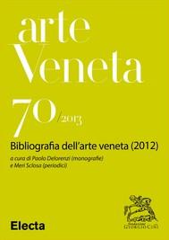 Arte Veneta 70 - copertina