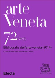 Arte Veneta 72 - copertina