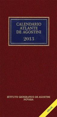 Calendario Atlante De Agostini 2013 - copertina