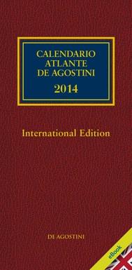 CALENDARIO ATLANTE De Agostini 2014 - International edition - copertina