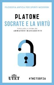 Socrate e la virtù - copertina