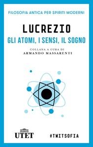 Gli atomi, i sensi, il sogno - copertina
