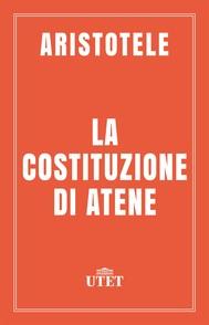 La costituzione di Atene - copertina