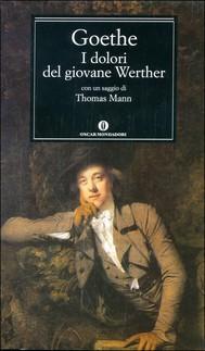 I dolori del giovane Werther (Mondadori) - copertina