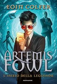 Artemis Fowl - L'inizio della leggenda - copertina