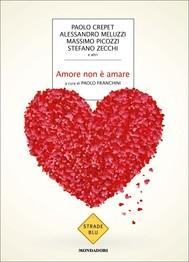 Amore non è amare - copertina