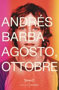 Agosto, ottobre - copertina