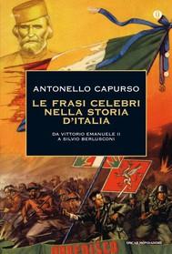 Le frasi celebri nella storia d'Italia - copertina