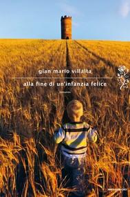 Alla fine di un'infanzia felice - copertina