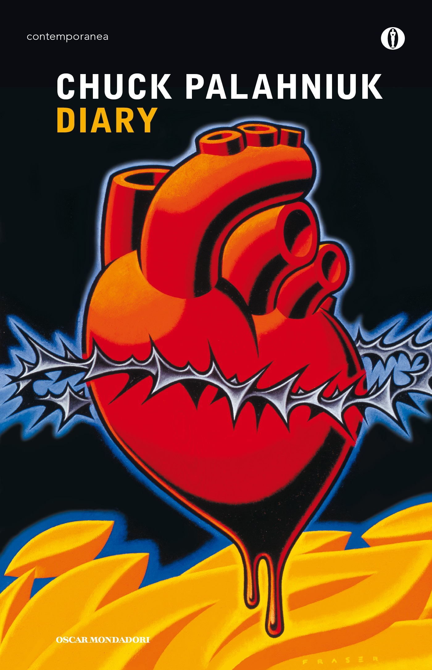 diary by chuck palahniuk from a Laura miller of saloncom wrote a scathing review of diary, saying that palahniuk's books traffic in the half-baked  david mccracken (2016) chuck palahniuk.