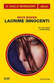 Lacrime innocenti (Il Giallo Mondadori) - copertina