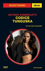 Codice Tunguska (Segretissimo) - copertina