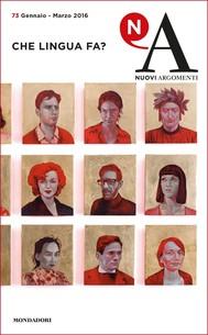 Nuovi Argomenti (73) - copertina