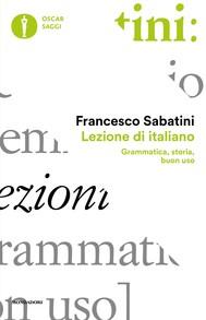 Lezione di italiano - copertina