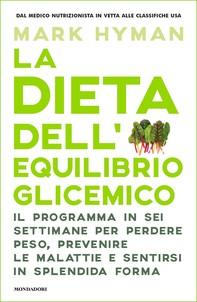 La dieta dell'equilibrio glicemico - Librerie.coop