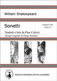 Sonetti - Sonetti 23-44 Libro 2/7 (versione PC o MAC) - copertina