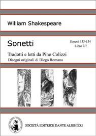 Sonetti - Sonetti 133-154 Libro 7/7 (versione PC o MAC) - copertina