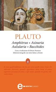 Amphitruo - Asinaria - Aulularia - Bacchides - copertina