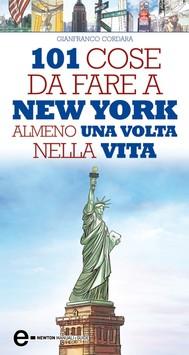101 cose da fare a New York almeno una volta nella vita - copertina