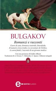 Romanzi e racconti - copertina