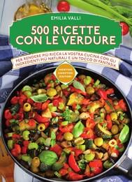 500 ricette con le verdure - copertina