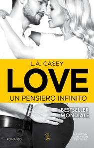 Love. Un pensiero infinito - copertina