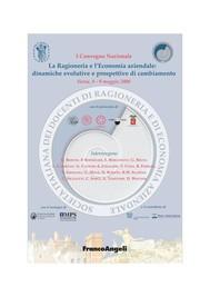 La Ragioneria e L'Economia aziendale: dinamiche evolutive e prospettive di cambiamento. Siena, 8-9 maggio 2008 - copertina
