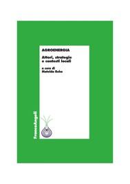 Agroenergia. Attori, strategie e contesti locali - copertina