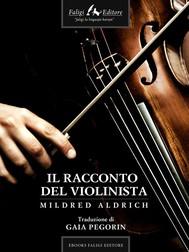 Il racconto del violinista  - copertina