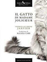 Il gatto di Madame Jolicoeur   - copertina