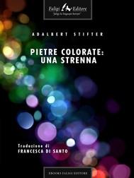 Pietre colorate: una strenna  - copertina