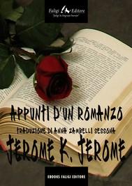 Appunti d'un romanzo - copertina