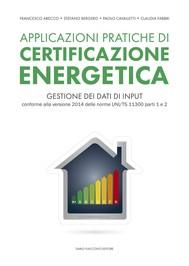 Applicazioni pratiche di certificazione energetica - copertina